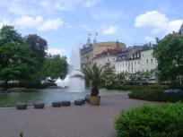 Baden-Baden, DE, city center
