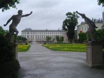 Salzburg, AT, Mirabell Garten